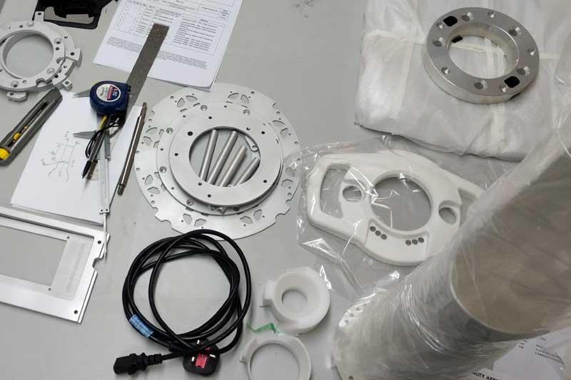 MRI component prototypes