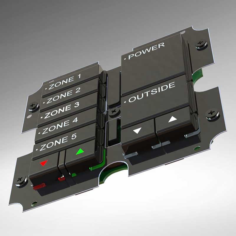 Lighting control switch