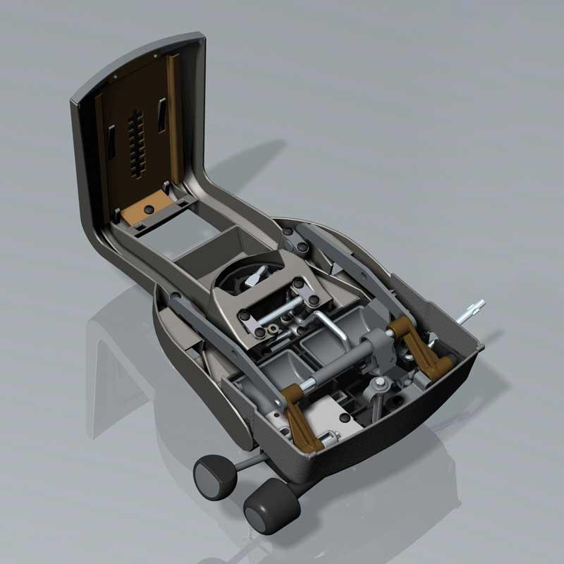 Office chair mechanism